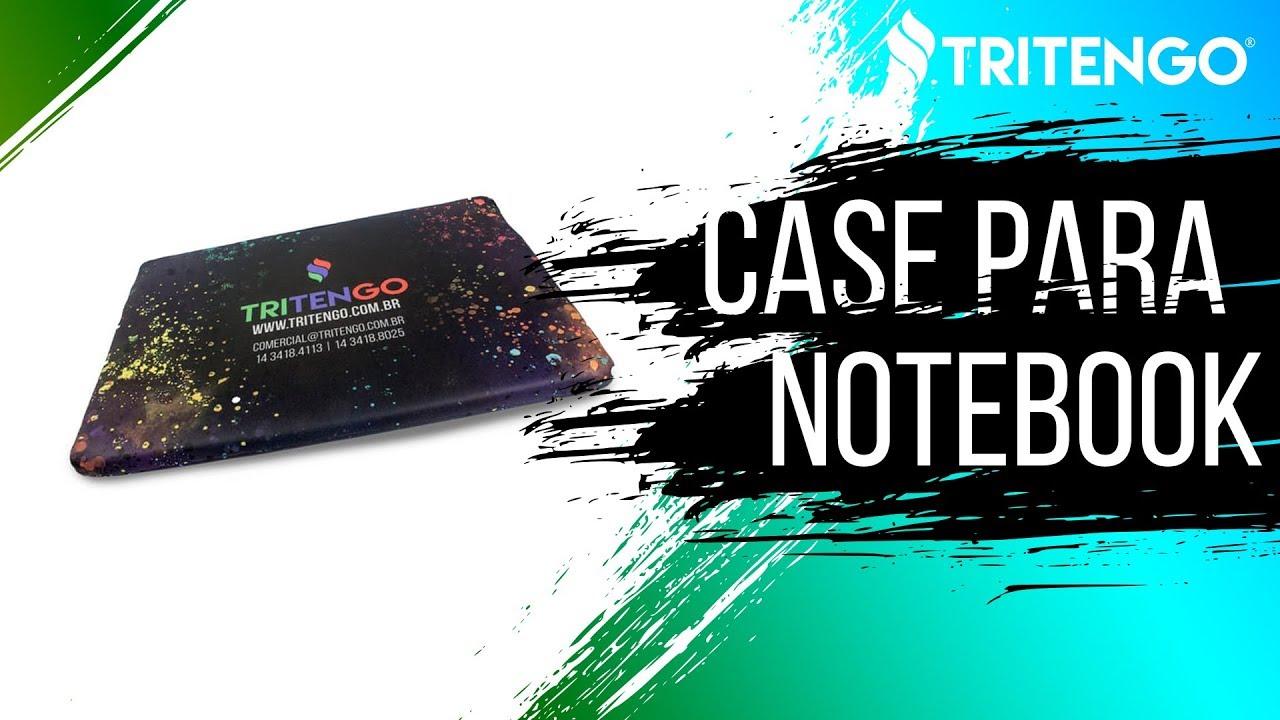 b6bb26f1376cf Brinde Personalizado Tritengo - Case para Notebook - YouTube