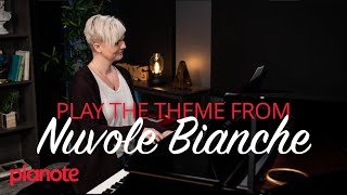 "Play The Piano Theme From ""Nuvole Bianche"" (Ludovico Einaudi)"