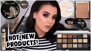 TRYING NEW DRUGSTORE MAKEUP PRODUCTS 2019! | MakeupByAmarie