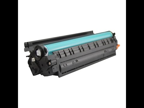 How To Refill Canon CRG 125 CRG 325 CRG 725 Cartridge