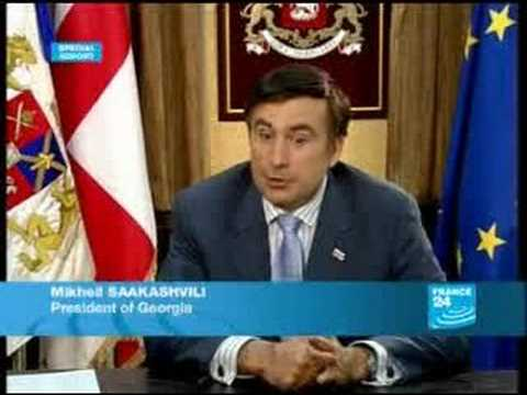 FRANCE 24 The Interview - EXCLUSIVE: Interview with Georgian President Saakashvili