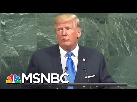 Donald Trump's UN Speech Completely Devoid Of Foreign Policy Specifics | The 11th Hour | MSNBC