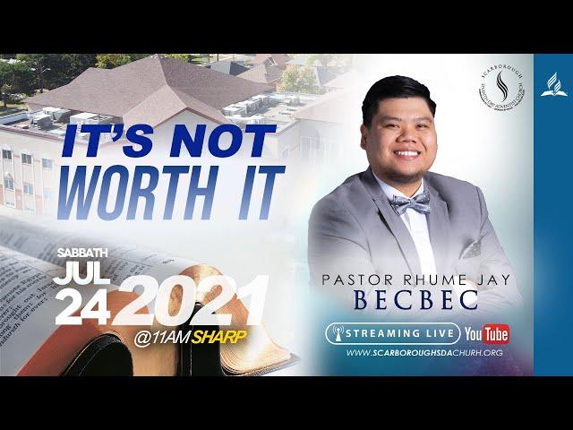 Sabbath Service | July 24, 2021
