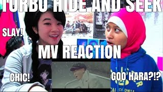 TURBO (터보) - HIDE AND SEEK (숨바꼭질) MV REACTION