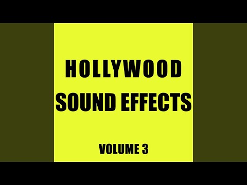 Hollywood Sound Effects Library, Vol. 3