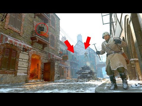 I DIDN'T SEE THEM IN A GLITCH SPOT ON TOP OF THE MAP!?!?!?! HIDE N' SEEK ON *WW2*
