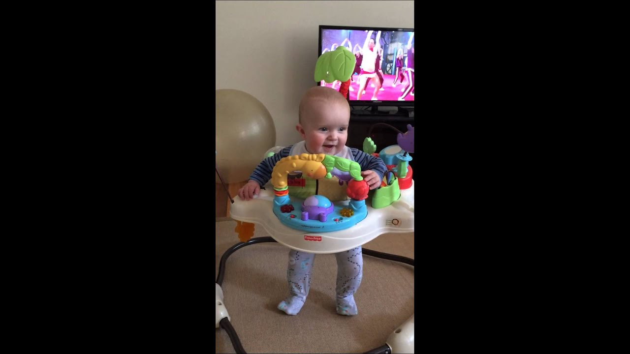 59d576a871a6 Fisher Price Jumperoo. Nick jump jump - YouTube