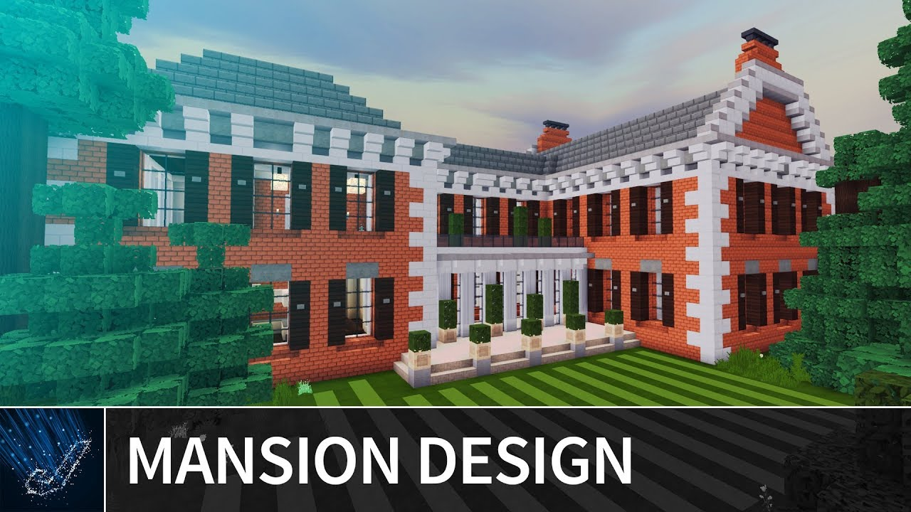 Minecraft 1 5 Millionaire Mansion House Design Ideas For
