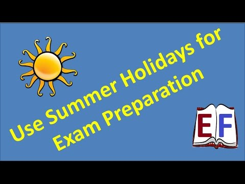 ExamFear Education Live : Use Summer Holidays for Exam Preparation