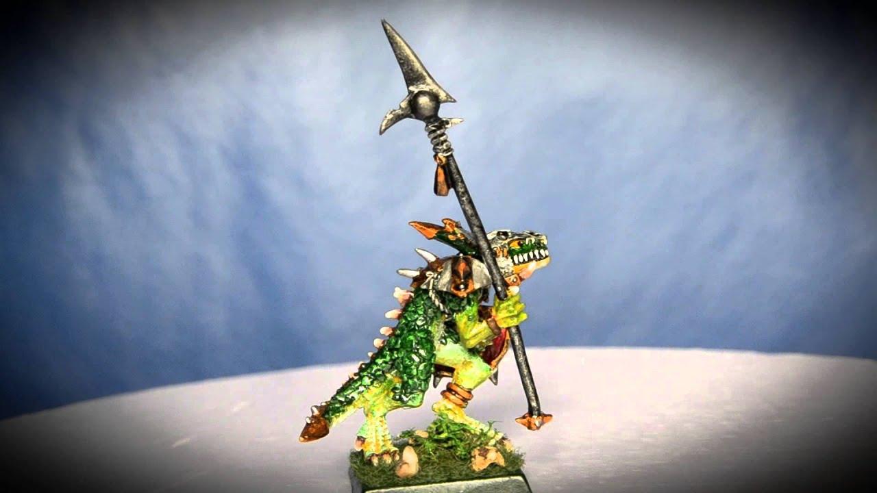 James Wappel Miniature Painting: Lizardmen Temple guard ...