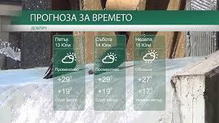 Прогноза за времето на 13-ти, 14-ти и 15-ти Юли 2018 г.