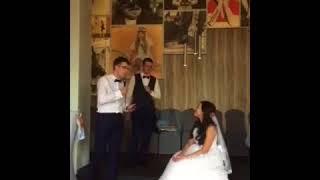 Скачать жених поздравляет невесту поет песню кто тебя создал такую.