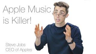 Apple Music is Killer!   Apple Music Ad (Parody)