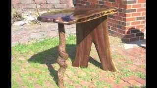 Rustic Unique Handcrafted Tables Made By Tom