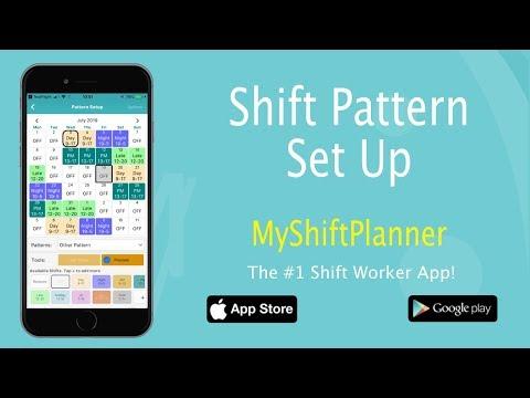 New Shift Pattern Set Up V 5 2 My Shift Planner Youtube