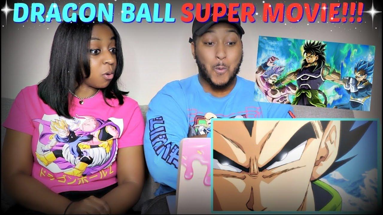 """Dragon Ball Super: Broly Movie Trailer"" (English Dub Reveal) REACTION!!"