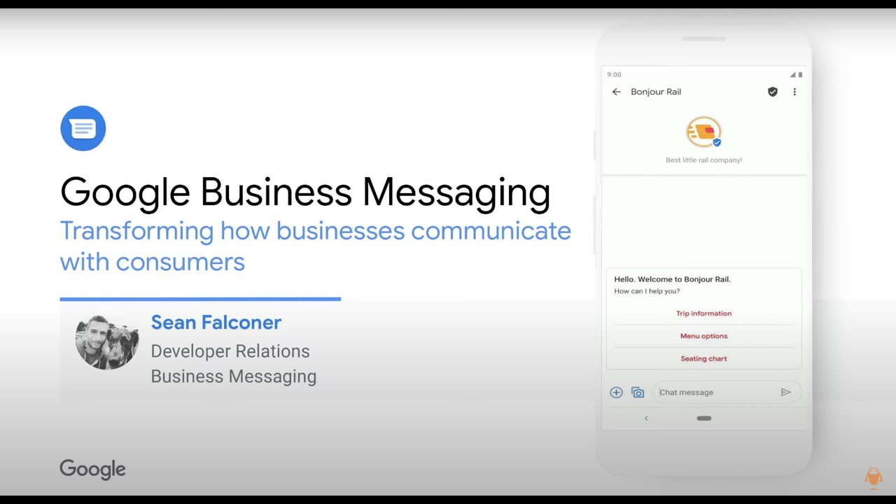How does Google Business Messaging Work?