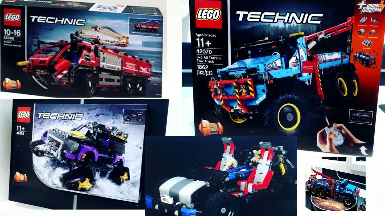 2017 lego technic summer sets pictures tow truck. Black Bedroom Furniture Sets. Home Design Ideas
