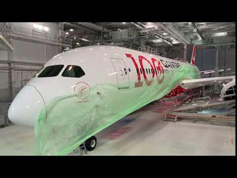 Qantas Centenary Livery