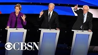 Democrats debate gender in politics, sexism and war during Iowa debate