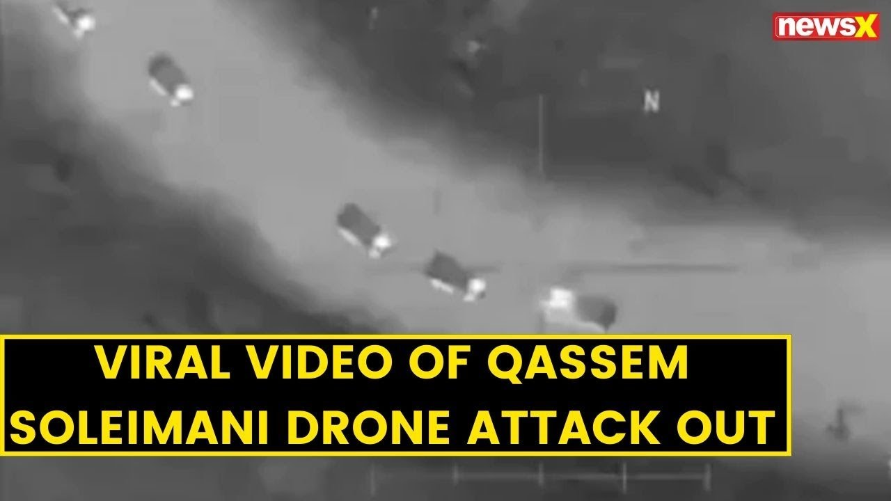 Viral video of Qassem Soleimani drone attack out | NewsX