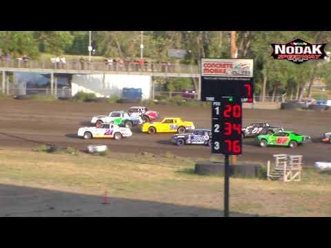 Nodak Speedway IMCA Stock Car Heats (8/19/18)