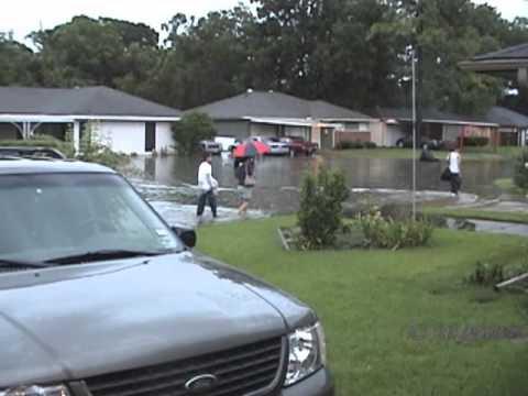 August 2007 Thunderstorm in Houston, Texas