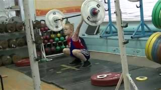 Отегов Степан, 12 лет, св 32 9 Рывок от голени 24 кг Есть   личный РЕКОРД!