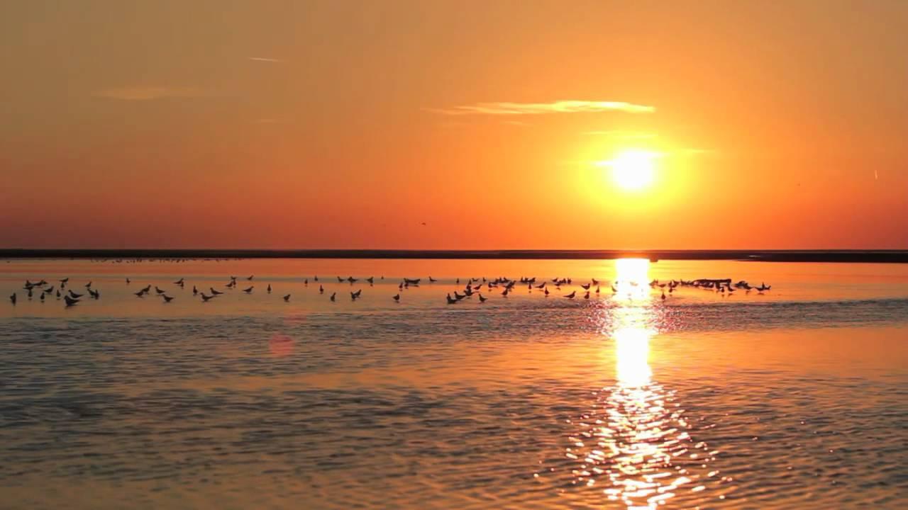 Coucher de soleil sur la baie de somme youtube - Coucher de soleil marseille ...