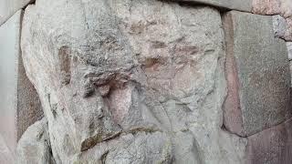 Megalithic stone work Cusco  Lima(2)