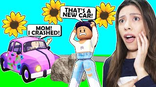 I Bought My Spoiled Son The *NEW* Flower Wagon and He CRASHED It! - Roblox (Spring Festival Update)