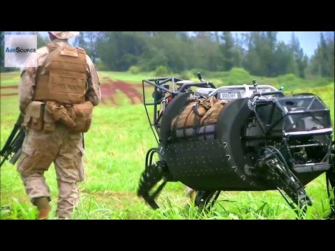 LS3 Robotic Pack Mule Field Testing by US Military
