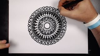 HOW TO DRAW a ***Mandala***