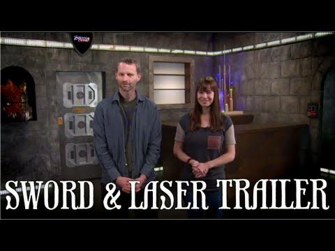Veronica Belmont & Tom Merritt's Sword and Laser Trailer (Sci-fi/Fantasy Book Club & More)!