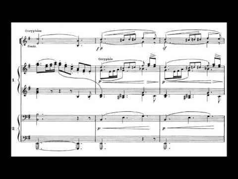 Claude Debussy - Printemps for Choir and Orchestra (1887)