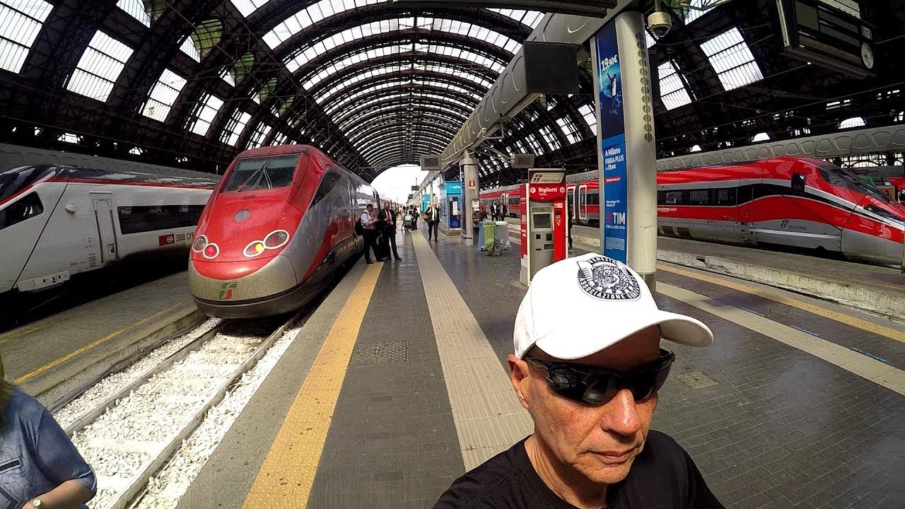 frecciarossa italy 39 s high speed train venice to milan hd. Black Bedroom Furniture Sets. Home Design Ideas