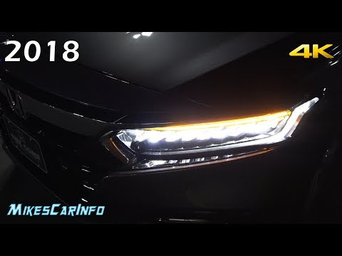 AT NIGHT: 2018 Honda Accord - Interior & Exterior Lighting Overview