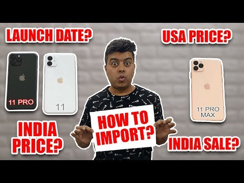 iPhone 11, iPhone 11 Pro, 11 Pro Max India Price | Launch Date | New Features | Whats New In Cameras