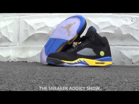 Air Jordan 5 V Shanghai Shen Sneaker Review HD With Dj Delz