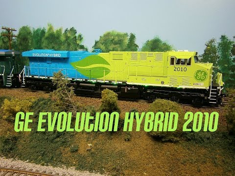 GE ES44AC Evolution Hybrid Locomotive