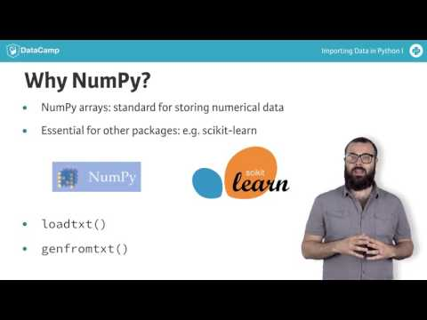 Python NumPy: Importing flat files