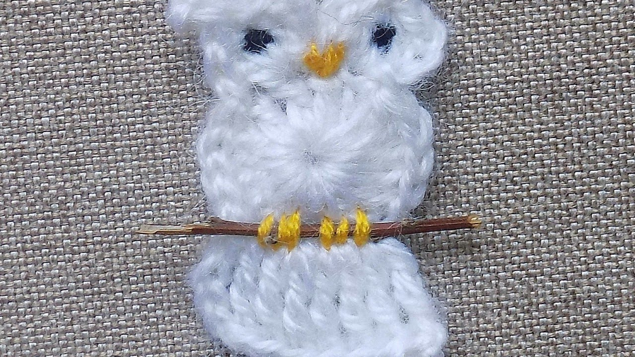 How To Make A Cheerful Crocheted Owl Applique Diy Crafts Tutorial