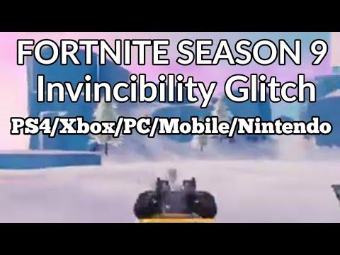 Fortnite Invincibility Glitch Season 9 | Creative/PlayGround/Battle Royale