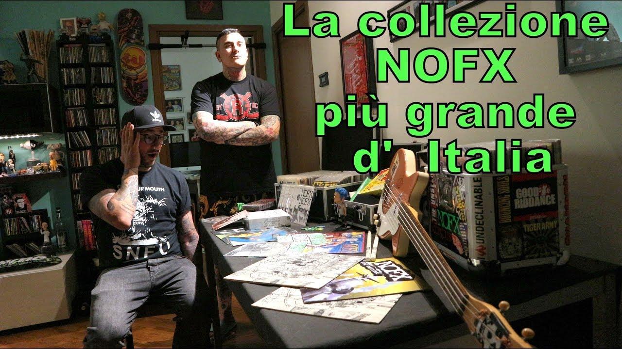 Alla scoperta della più grande collezione italiana sui NOFX (Meet the collector vol.1)