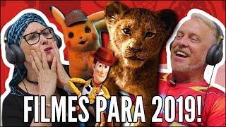 IDOSOS REAGEM A FILMES MAIS AGUARDADOS - REI LEÃO, PIKACHU, TOY STORY 4 E CAPITÃ MARVEL
