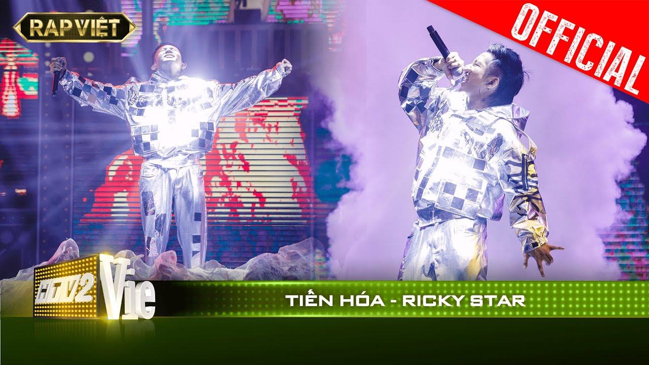 Sởn da gà liên hồi khi Ricky Star mang chất rap ngày xưa vào bản rap Tiến Hóa  | RAP VIỆT