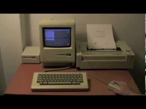 Mac Draw Original Macintosh 128k SpeedUp