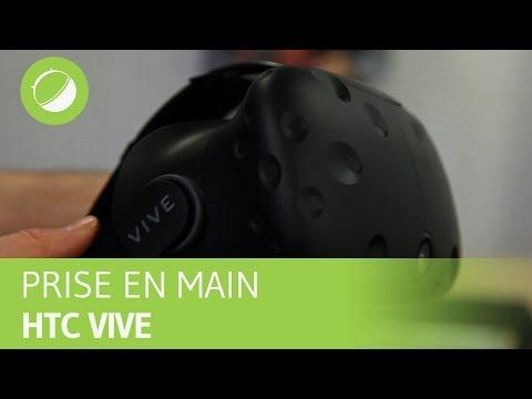 HTC VIVE : La prise main