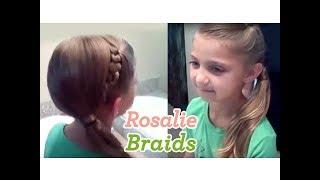 Rosalie Braids | Twilight Hairstyles | Cute Girls Hairstyles