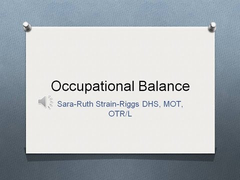 Occupational Balance